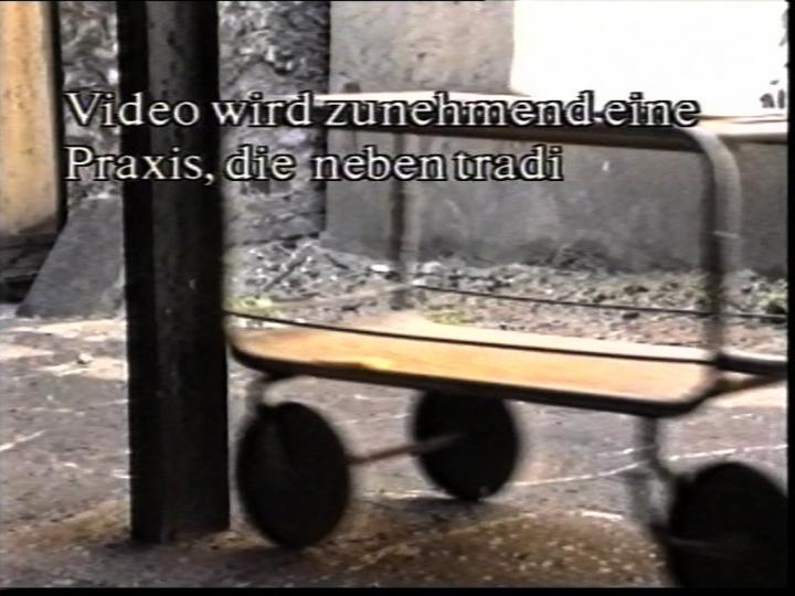 Werk - Videotheorie IV