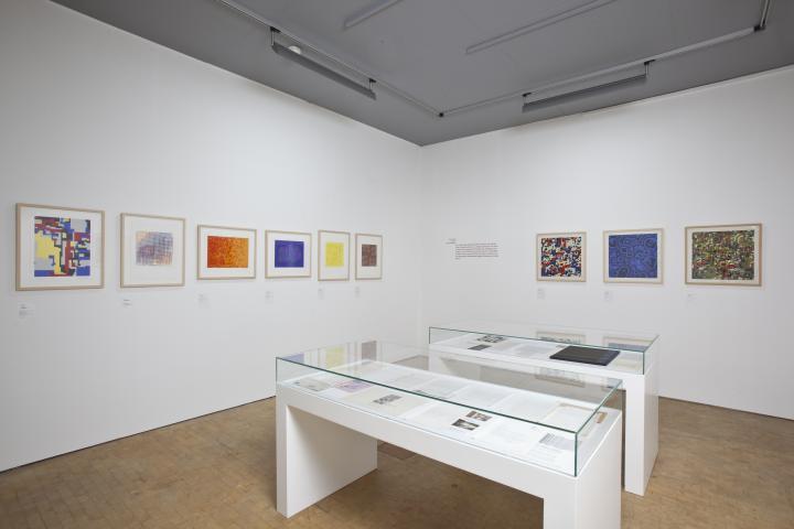Ausstellungsansicht Hiroshi Kawano