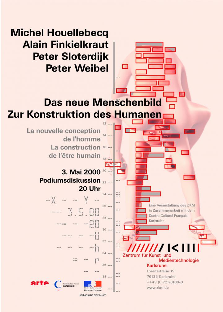 """Poster of the event """"The new image of man"""""""