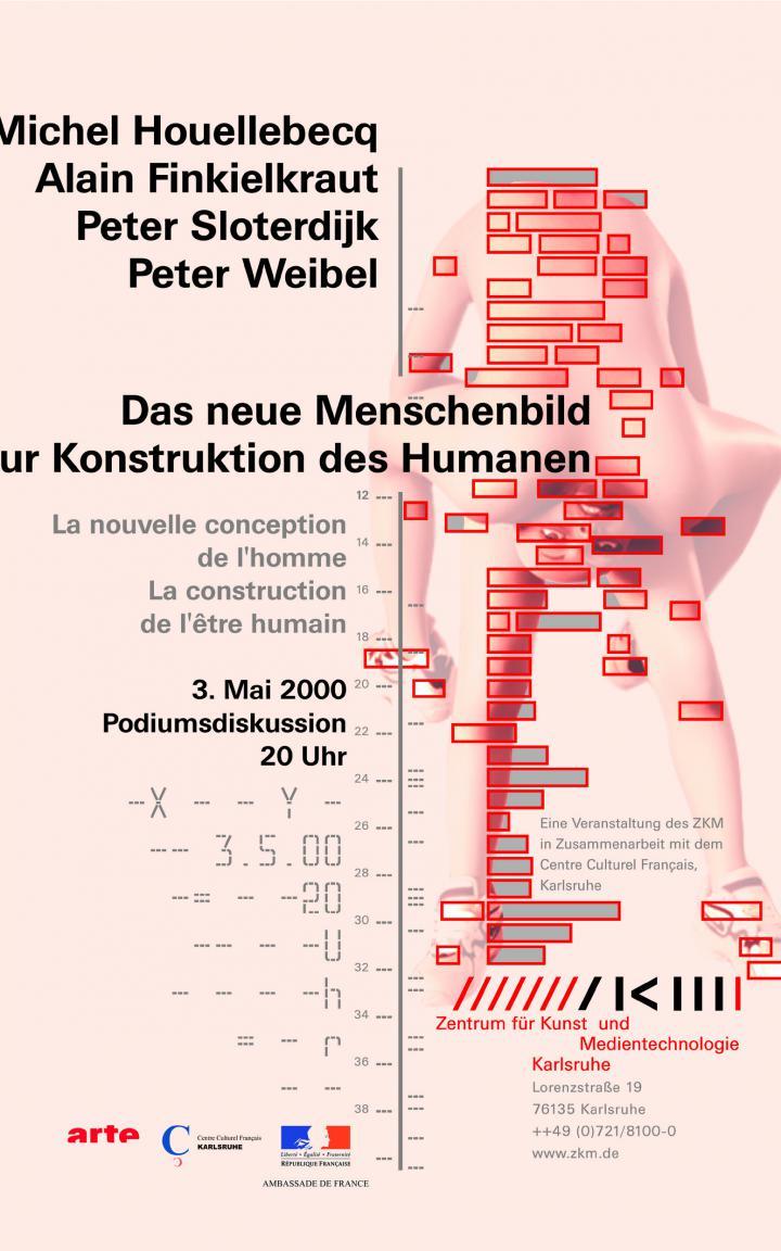 """Plakat der Veranstaltung """"Das neue Menschenbild"""""""